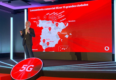 Vodafone 5g Ciudades