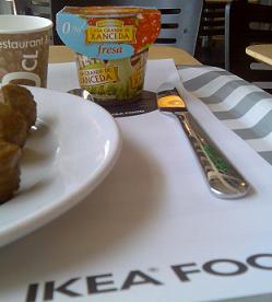 Ikea introduce en su menú los yogures Casa Grande de Xanceda