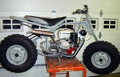 Raccoon Hydrostatic 2WD Motorcycle