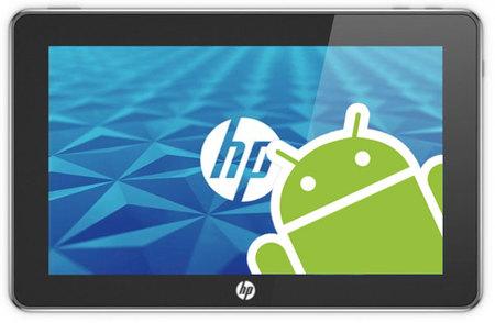 HP recibe a Android, lanzará una tablet.