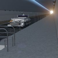 Se proyecta el primer túnel para barcos del mundo