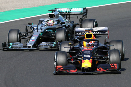 Verstappen Hamilton Hungria F1 2019