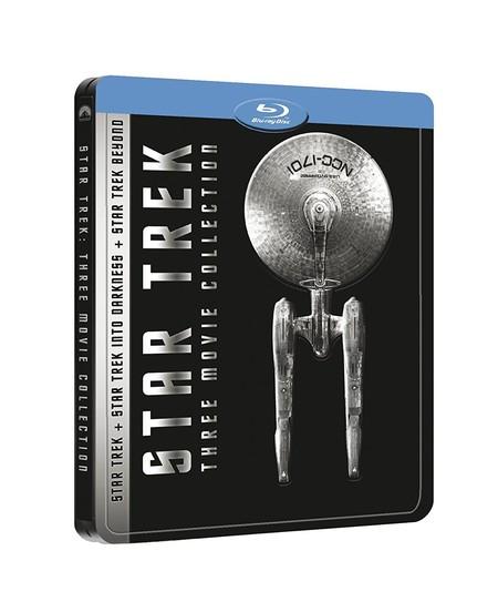 SteelBook Star Trek, con las últimas tres películas de la saga en Blu-ray, por 17,25 euros