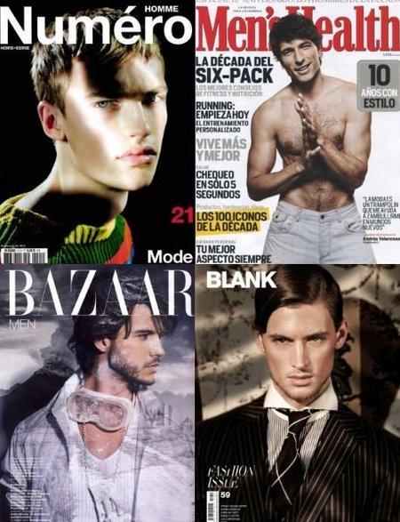 Repasamos las portadas de las revistas internacionales, un buen ramillete de tendencias para esta Primavera-Verano 2011