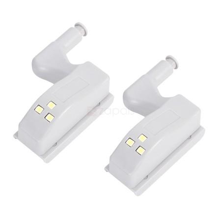 2 luces LED para armarios, con encendido automático, por sólo 99 céntimos y envío gratis