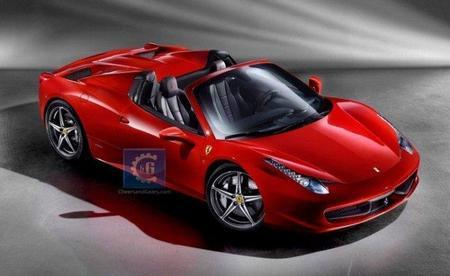 Ferrari 458 Italia Spider, filtradas las imágenes oficiales