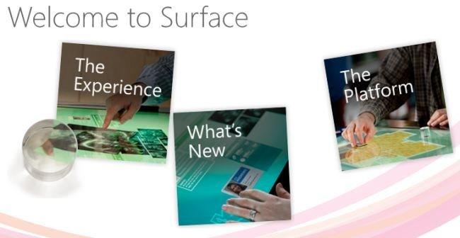 Microsoft Surface 2.0