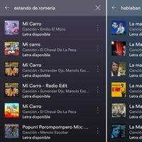 La app de Spotify ya te permite buscar canciones por sus letras