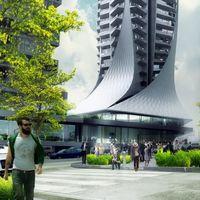 Inicia la construcción de Bora Tower, el primer edificio en Ciudad de México diseñado por Zaha Hadid