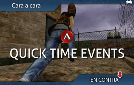 Quick Time Events: en contra