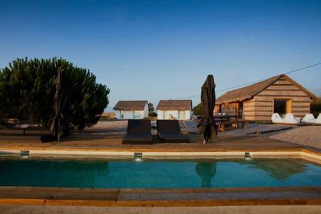 De vacaciones en el paraíso, hotel Casa na Areia en Portugal
