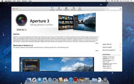 os x lion mac apple app store aperture