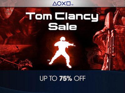 ¿Deseas jugar algún título de Tom Clancy? Playstation Store tiene una venta especial dedicada a estos videojuegos