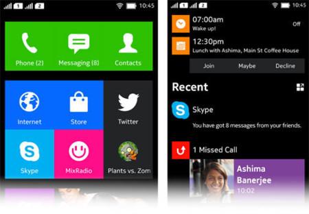 Android Nokia Metro