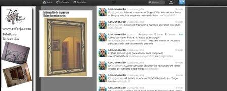 Fondo Twitter aprovechando la transparencia