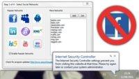 Internet Security Controller controla tu tiempo en las redes sociales