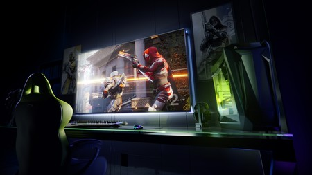 NVIDIA presenta su gigantesco monitor 4K de 65 pulgadas, 120Hz y juegos en streaming con Android TV