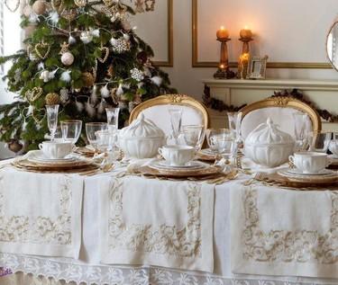Mesas de Navidad de Zara Home, el detalle marca la diferencia