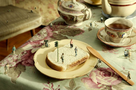 Fantaseando con la comida, las creativas fotografías de Manuel Archain
