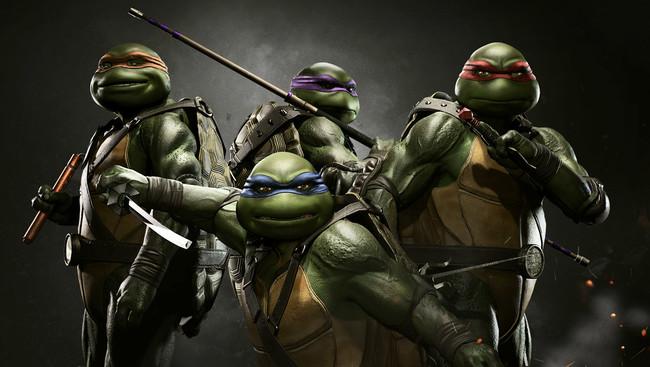Injustice 2 Tortugas Ninja