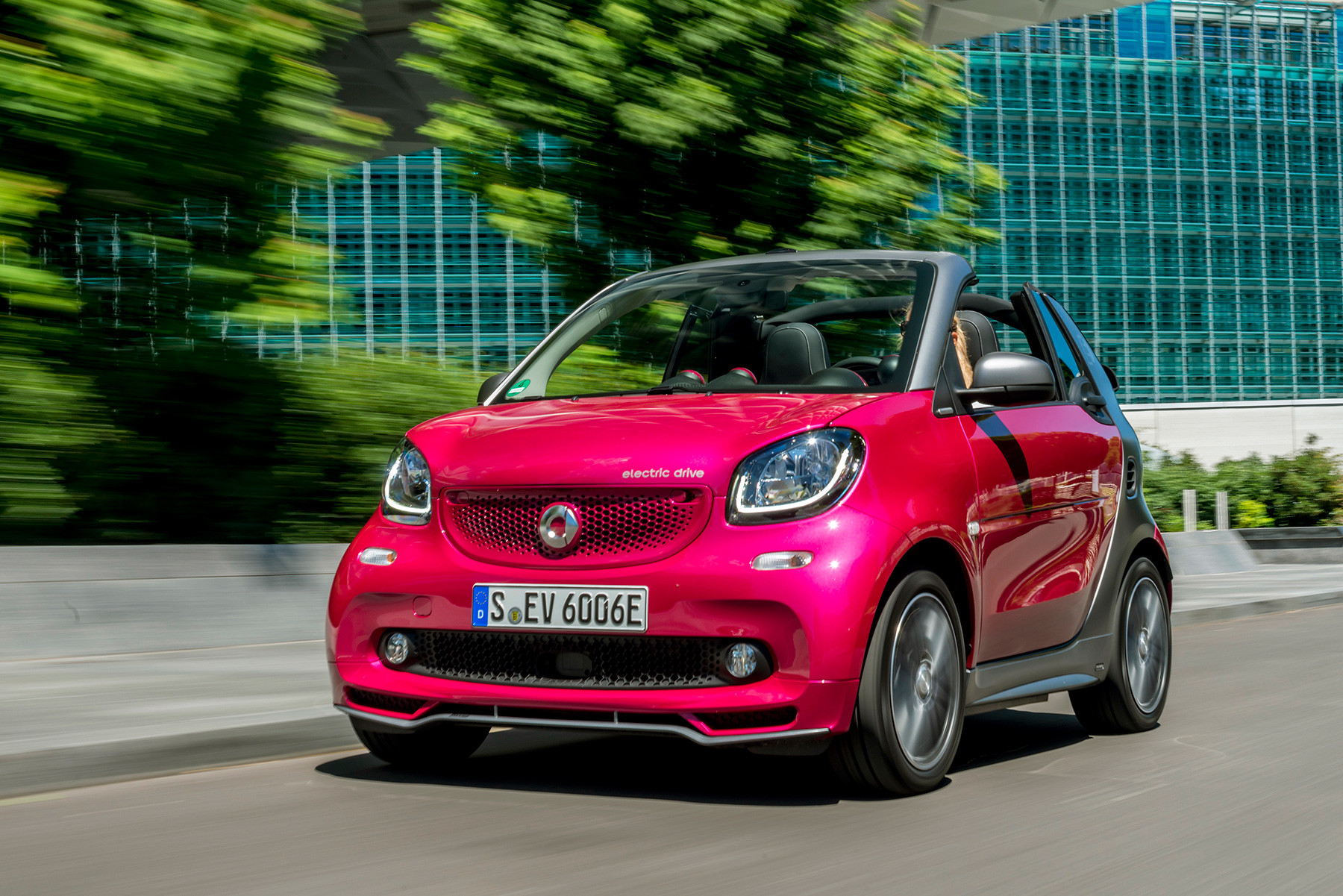 Foto de Smart FortTwo Cabrio Electric Drive (6/9)