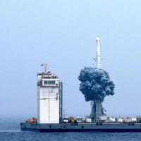 China está construyendo una plataforma de lanzamiento de cohetes flotante: estará ubicada en el mar