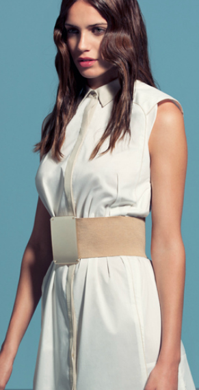 Vestido Blanco de Sfera