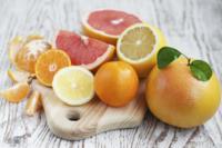 Análisis nutricional de diferentes tipos de cítricos