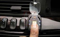 Huellas dactilares para inmovilizar el coche