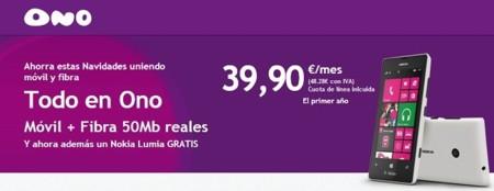 ONO lanza nuevas tarifas convergentes con precios definitivos y se apunta a regalar smartphones