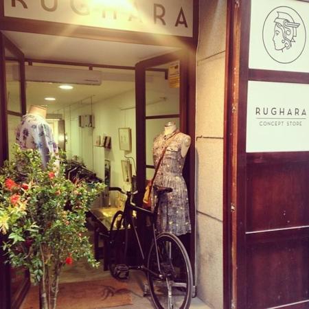 Fuerza, inconformismo, libertad... Rughara Concept Store