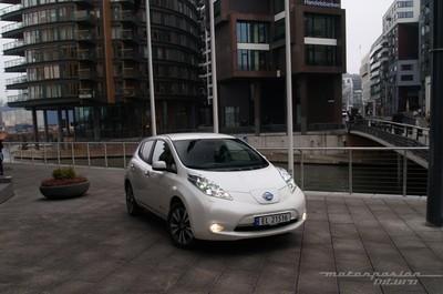 Nissan LEAF 2013, presentación y prueba en Oslo (parte 2)