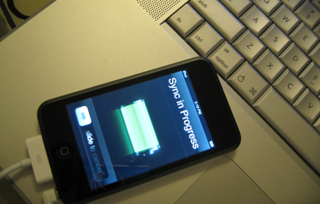 iPod Touch Sync
