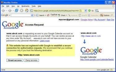 Account Authentication Proxy, el Passport de Google