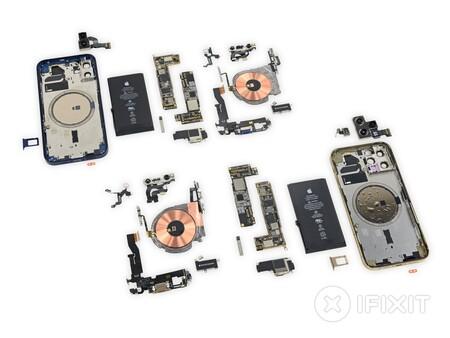 iFixit desmonta el iPhone 12 y el iPhone 12 Pro: diseño modular y partes intercambiables