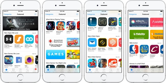 App Store Feaetured Tab Teaser 001