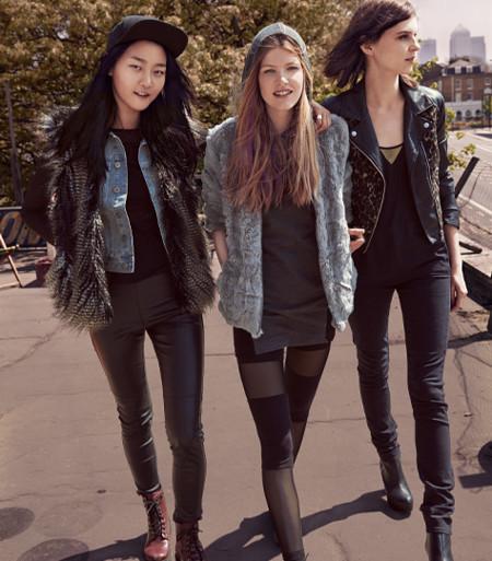 Colección H&M Divided otoño-invierno 2013/2014: los jóvenes se abrigan con estilo