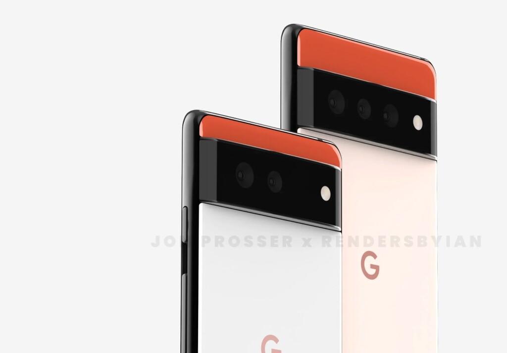 Así serán los Google Pixel 6 y Pixel 6 Pro según imágenes filtradas