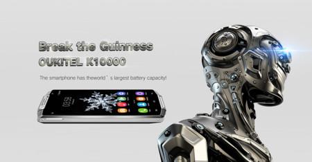 Oukitel K10000, un gama media  con una enorme batería de 10.000 mAh