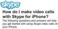 Skype incorporará videollamadas en el iPhone en 2011