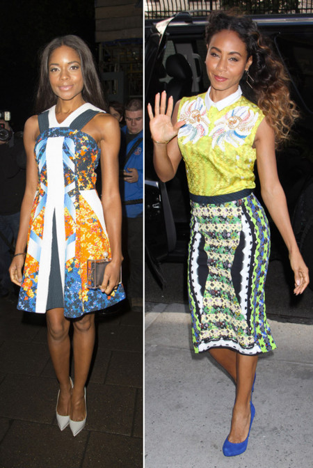 Naomie Harris Jada Pinkett-Smith Peter Pilotto