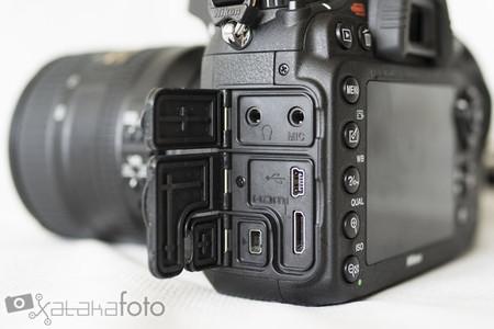 Nikon D610 conexiones