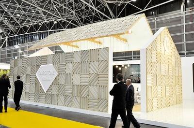 El stand de Durstone en Cevisama 2013 por VXlab