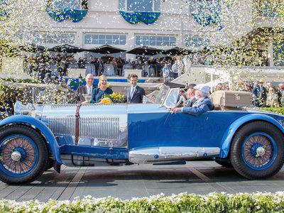 Este Mercedes-Benz de 1929 es el ganador del concurso de elegancia de Pebble Beach 2017