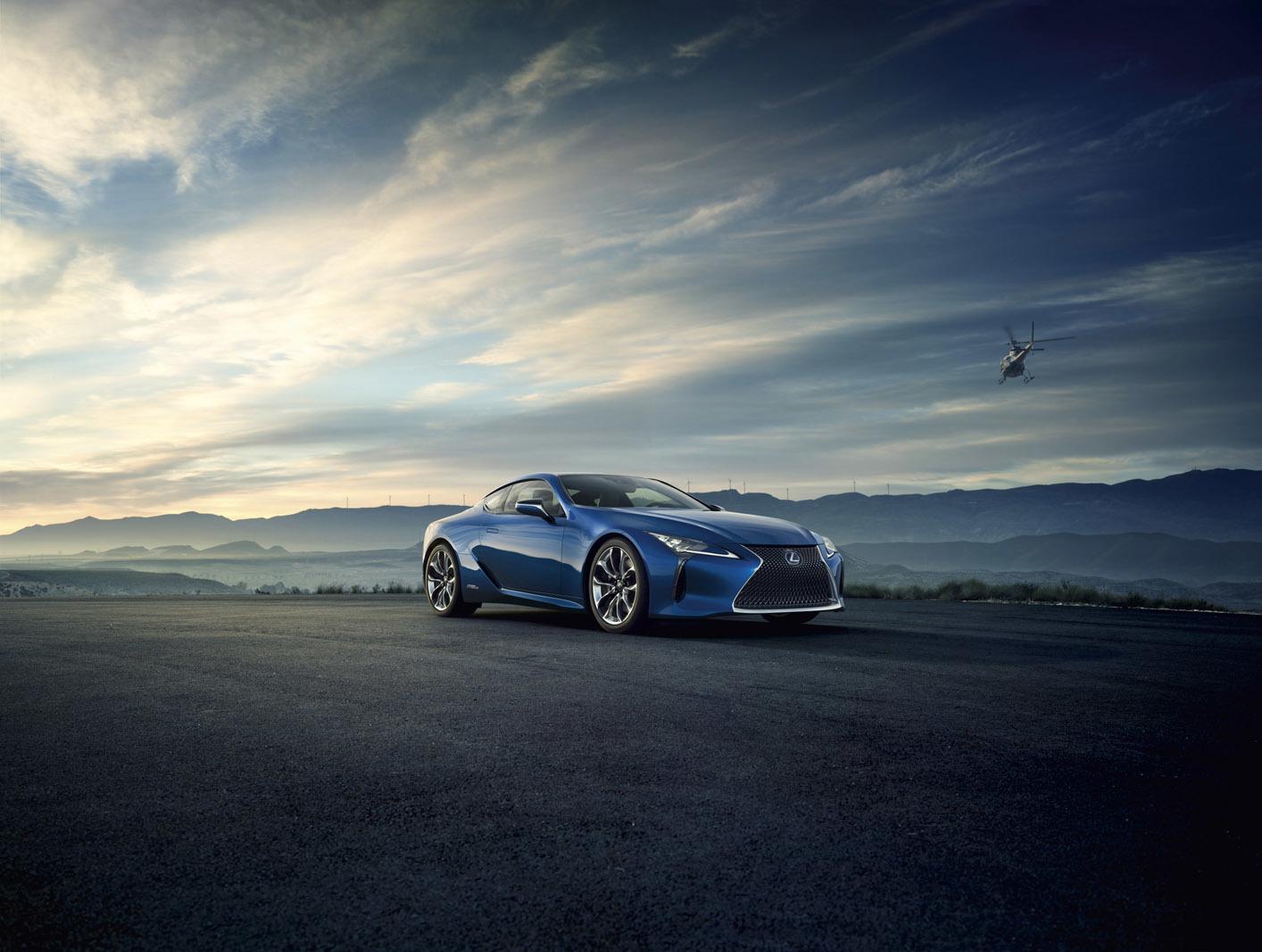 Foto de Lexus LC 500h (9/49)