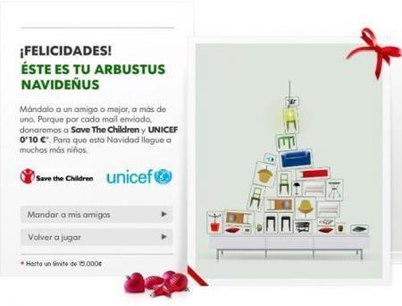 Arbustus Navideñus, felicita la navidad de forma solidaria con Ikea