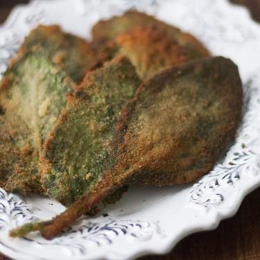 Borrajas rebozadas: una deliciosa receta de guarnición con un ingrediente poco común