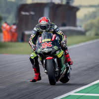 """Jonas Folger sube al podio de MotoGP ante su afición: """"Cuando me he puesto a liderar, no me lo creía"""""""