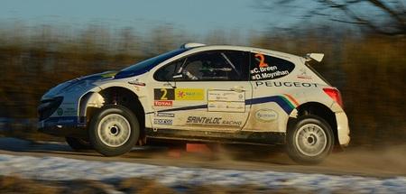 Craig Breen lidera con maestría un Rally de Letonia con muy poca nieve