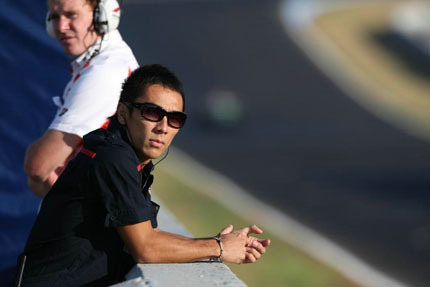 Red Bull podría repescar a Sato como reserva
